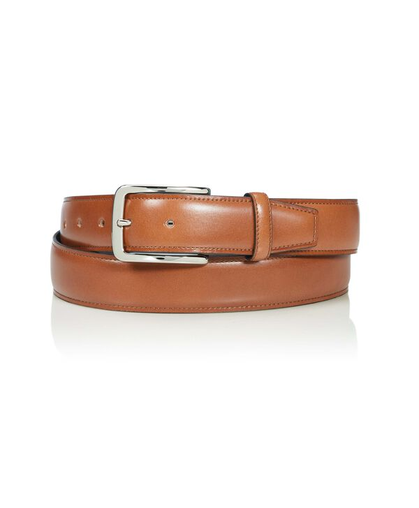 Belts Contrast Edge Leather Belt 42""