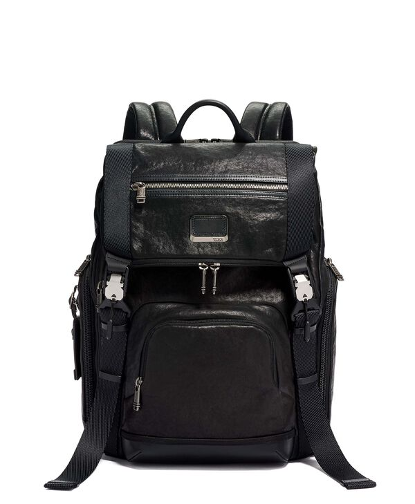Alpha Bravo Lark Backpack Leather
