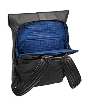 Kenton Foldover Leather Backpack Ashton