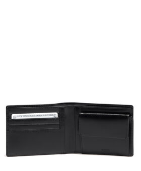 Global Wallet with Coin Pocket Donington Slg