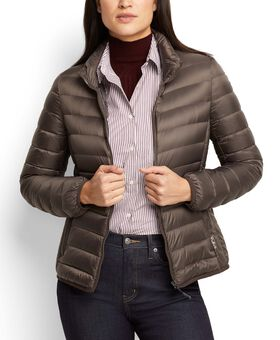 Women's - Clairmont Packable Travel Puffer Jacket M Tumi PAX Outerwear