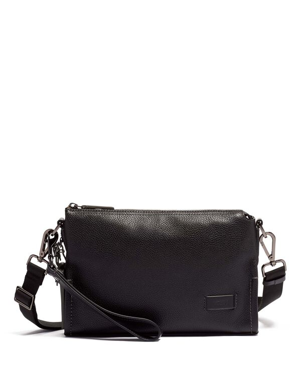 Harrison Sterling Crossbody Leather