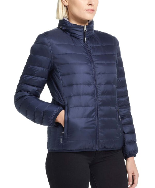 Outerwear Womens Clairmont Reversible Packable Puffer Jacket L