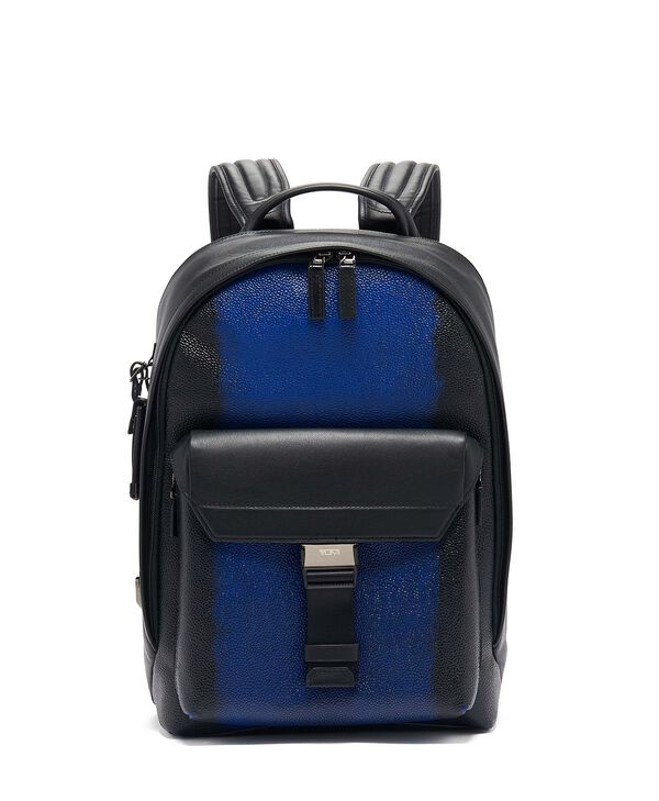 Ashton Morrison Leather Backpack