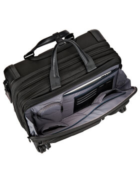 4 Wheeled Deluxe Brief with Laptop Case Alpha 2